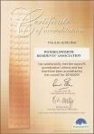 WRA accreditation 2014-15